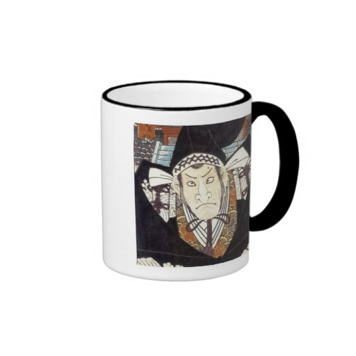Moronao, Villian of Kabuki play Chusingura, Kum... Coffee Mug