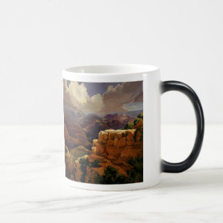"Morphing Mug! ""Beyond the Divide,"" Susan Pitcairn Magic Mug"