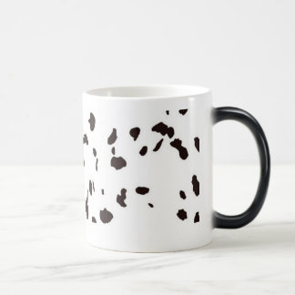 Morphing Mug - Dalmation Dog Spots / Cow Spots