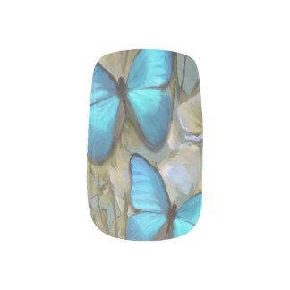 Morpho Butterflys Minx Nail Art