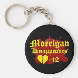 Morrigan Disapproves Key Ring