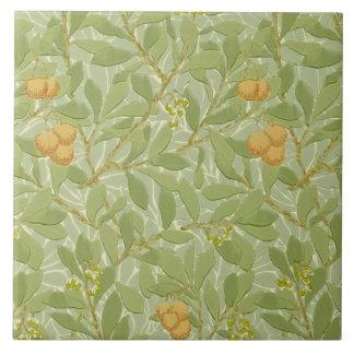 Morris 1913 Arbutus Design Arts & Crafts Tile