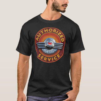 morris cars vintage service sign T-Shirt
