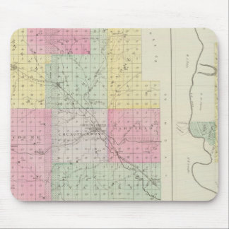 Morris County, Council Grove, Kansas Mouse Pad