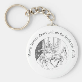 Morris Dancer's Look On The Bright Side Of Life Keychain