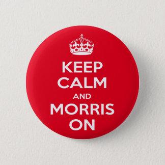 Morris Dancing 6 Cm Round Badge