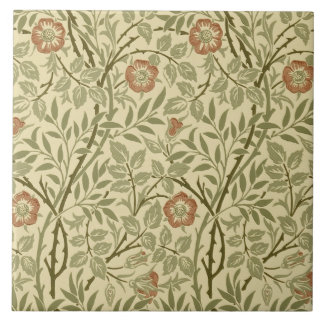 Morris/Deale Arts & Crafts Sweet Briar Repro Tile