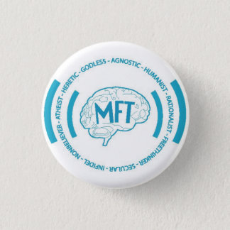 Morris Freethinkers 3 Cm Round Badge