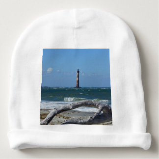 Morris Lighthouse And Tree Remains Baby Beanie