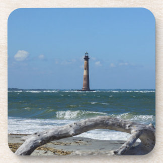 Morris Lighthouse And Tree Remains Coaster