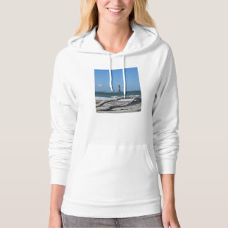 Morris Lighthouse And Tree Remains Hoodie