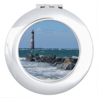 Morris Lighthouse Folly Beach Makeup Mirror