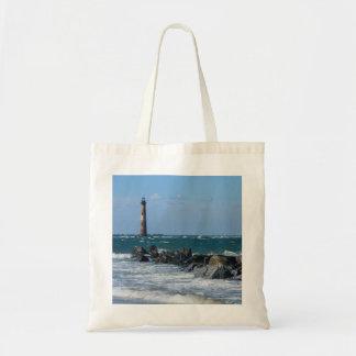 Morris Lighthouse Folly Beach Tote Bag