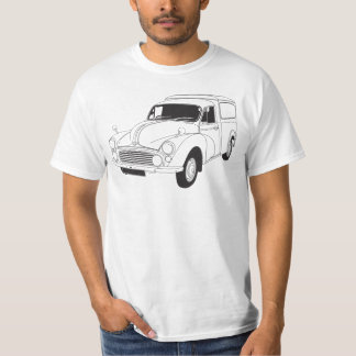 Morris Minor 1000 6WT Van T-shirt