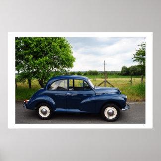 Morris Minor 1000 Poster