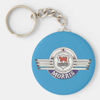 Morris Minor Car Classic Vintage Hiking Duck Basic Round Button Key Ring
