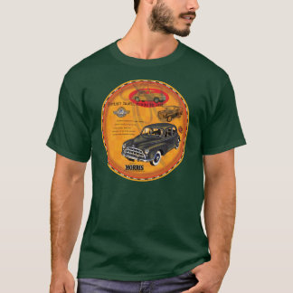Morris Minor car vintage sign T-Shirt