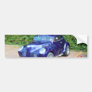 Morris Minor Hot Rod Bumper Sticker