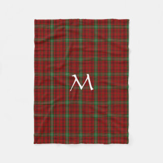 Morrison Clan Tartan Plaid Fleece Blanket