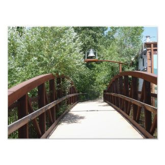 Morrison Colorado Pedestrian Bridge Photo Print