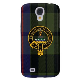 Morrison Scottish Crest and Tartan Samsung Phone Galaxy S4 Covers