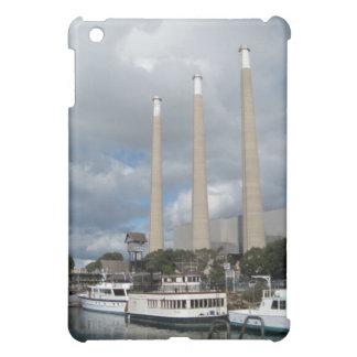 Morro Bay Fishing Boats and Smokestacks Case For The iPad Mini