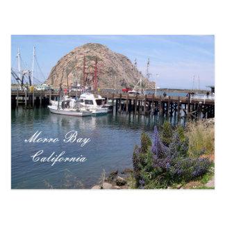 Morro Bay Fishing Dock, California Postcard