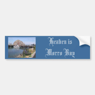 Morro Bay Souvenirs Car Bumper Sticker