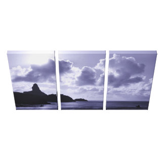 Morro do Pico Canvas Print