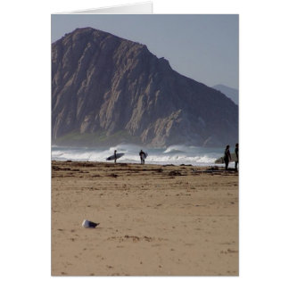Morro Rock Beaches Surfers Card