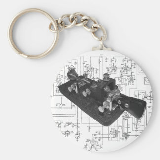 Morse Code Radio Key Schematic Key Ring