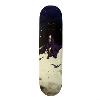 Mortality and the Moon Skate Deck