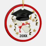 Mortar and Diploma Graduation 2012 - Customise Christmas Ornaments