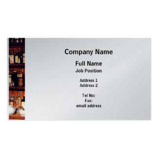 Mortar and Pestle and Medicine Botles - Platinum Pack Of Standard Business Cards