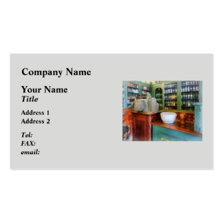 Mortar and Pestle in Pharmacy Double-Sided Standard Business Cards (Pack Of 100)