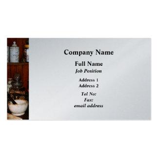 Mortar and Pestles in Drug Store - Platinum Pack Of Standard Business Cards