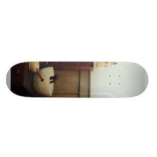 Mortar and Pestles on Desk 19.7 Cm Skateboard Deck