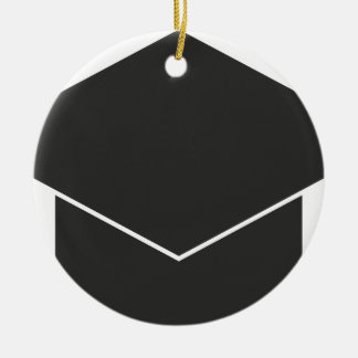 Mortar Board Ceramic Ornament