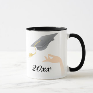Mortar Board Graduation Mug
