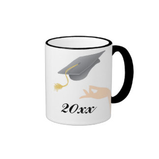 Mortar Board Graduation Mug