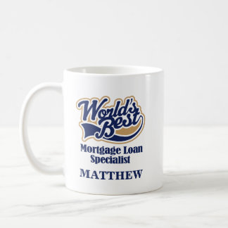 Mortgage Loan Specialist Personalized Mug Gift