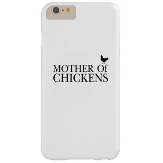 Morther Chickens Around Chicken Mom Pet Lover Barely There iPhone 6 Plus Case