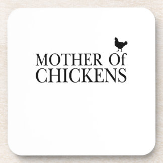 Morther Chickens Around Chicken Mom Pet Lover Coaster