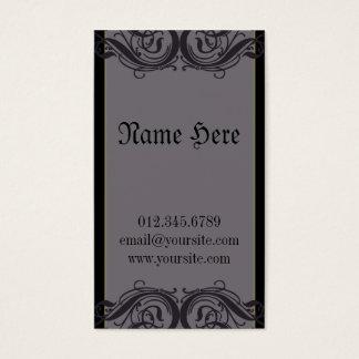 Morticia Business Card