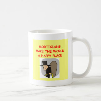 mortician coffee mug