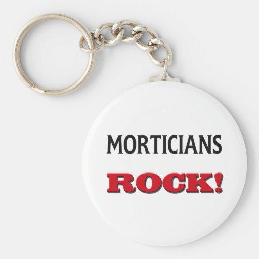 Morticians Rock Key Chain