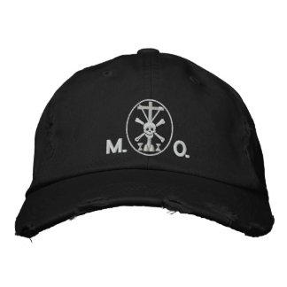 Mortis et Orationis (M.O.) symbol Embroidered Hat
