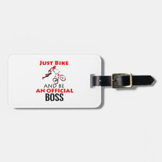 mortocycle designs luggage tag
