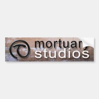 Mortuary Studios bumper sticker