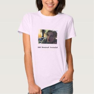 MOS: Broadcast Journalism - Customized Tee Shirt
